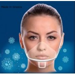 Face mask shield High quality Protective Stable Comfortable Anti fog Fashion decorative Visible smile