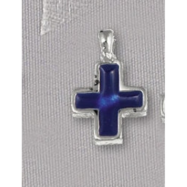 Cross charms supplies Witness pins pendant jewelry 10 pieces Enamelled
