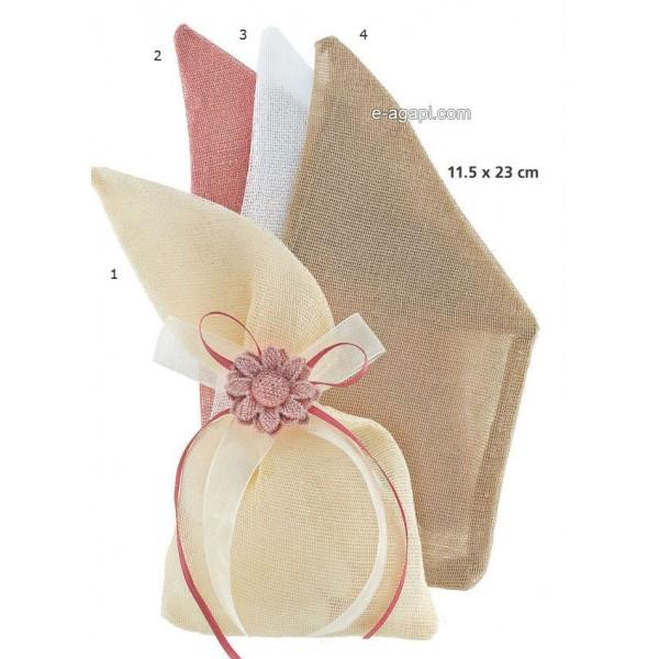 Baptism favors for girls Autumn Unique baby shower pouch favors