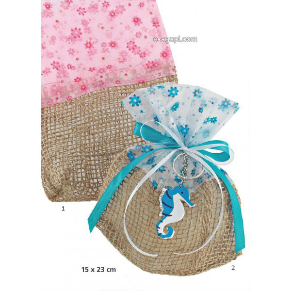 Baptism favors for boys and girls Horsesea Unique baby shower pouch favors