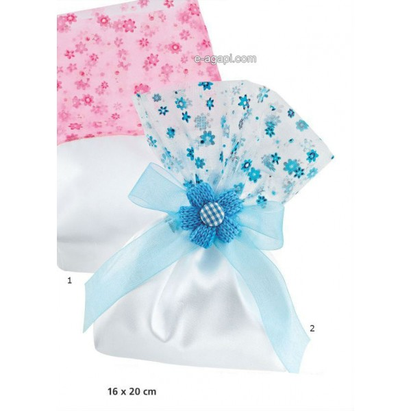 Baptism favors for boys and girls Summer baby shower pouch favors