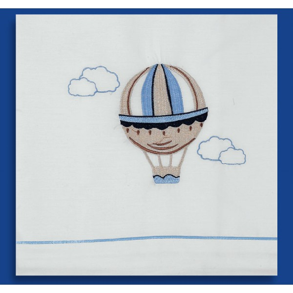 Ladopana baby boy baptism orthodox towel set AIRBALLOON Personalized - 6 pieces