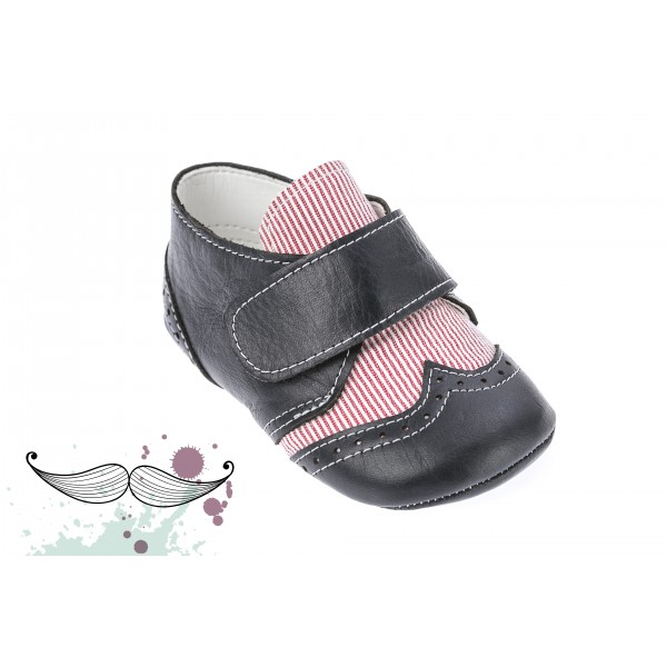 Baby boy shoes Leather toddler crib shoes sneakers Baby shoes navy blue red
