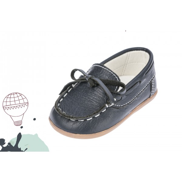 Baby boy shoes moccasins Toddler leather shoes Black baptism shoes