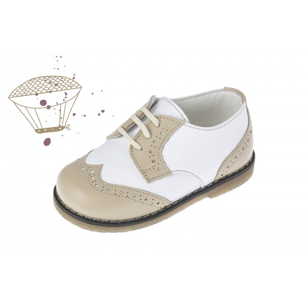Baby boy shoes oxford shoes Toddler leather shoes White ecru baptism shoes