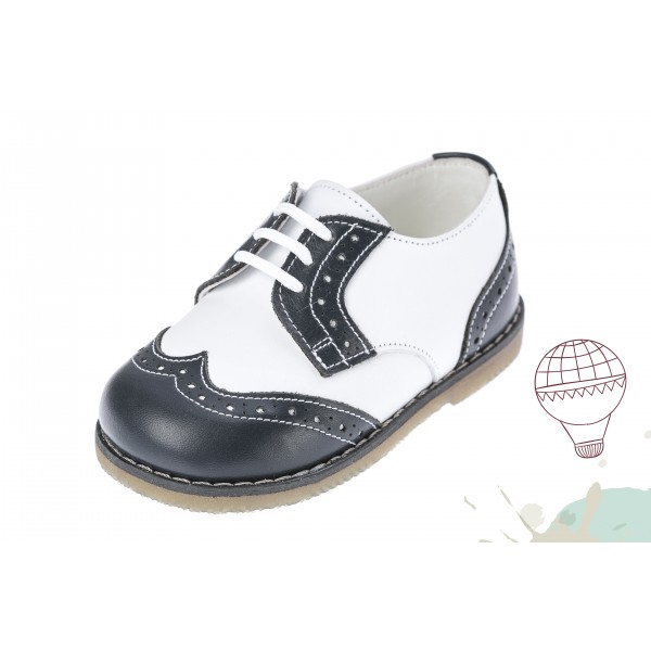 Baby boy shoes oxford shoes Toddler leather shoes White Black baptism shoes