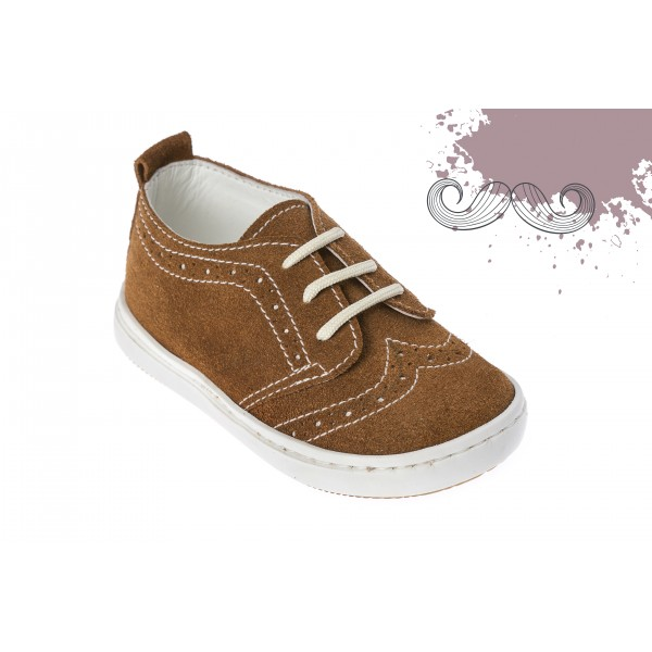 Baby boy shoes Wingtip shoes Toddler leather shoes Brown baptism shoes