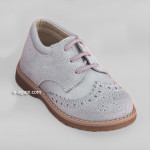 Baby boy shoes  - Oxford shoes - Toddler first shoes - size 4-9 US - EU 19-25 - Grey