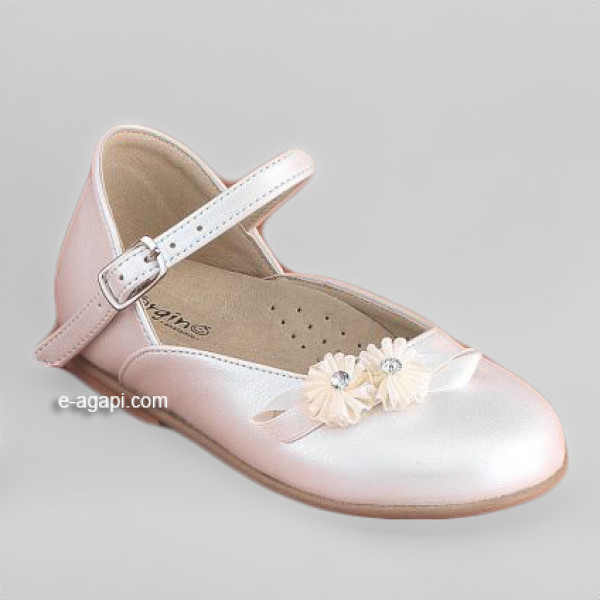 Baby girl shoes Elegant wedding leather shoes Baptism White shoes