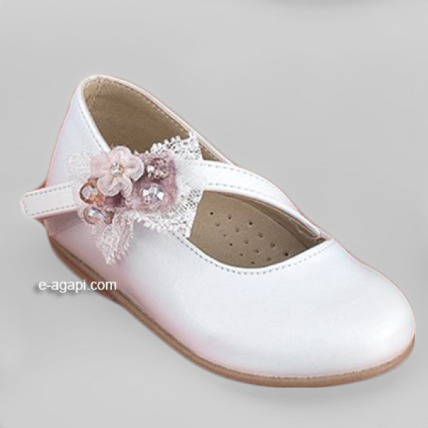 Baby girl shoes Baptism shoes Toddler leather shoes White baptism shoes