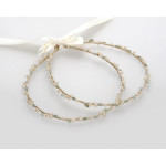 Stefana crowns Wedding bride groom accessories pearl porcelain floral