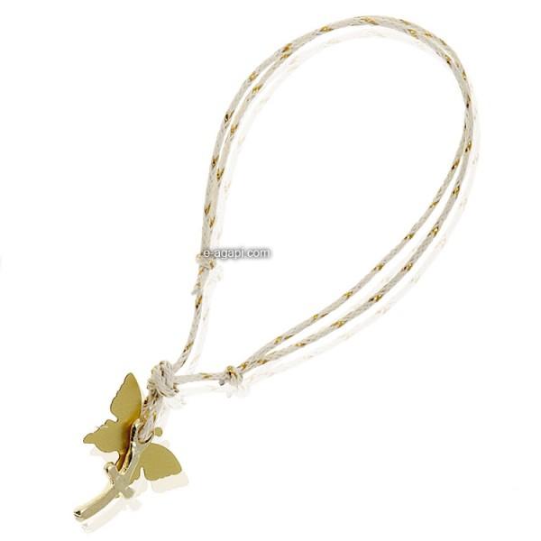 Baptism favors Greek martyrika cross witness bracelets for girls gold butterfly