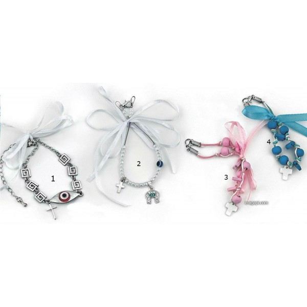 Favors for guests Greek martyrika cross witness bracelets for boys and gilrs